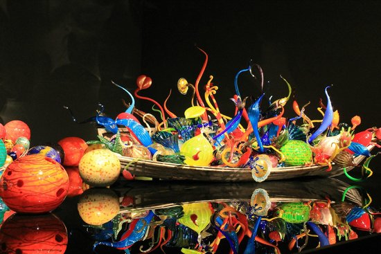Chihuly Garden and Glass: Ikebana & Float Boat