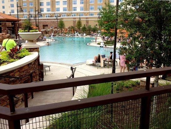WinStar World Casino Hotel: Family friendly pool!