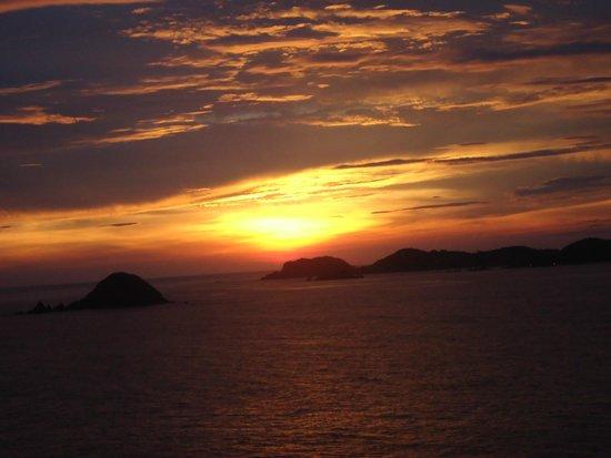 Pacifica Resort Ixtapa : Los atardeceres
