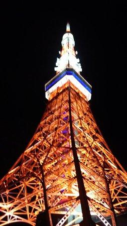 The Prince Park Tower Tokyo: ホテルの横の小道から