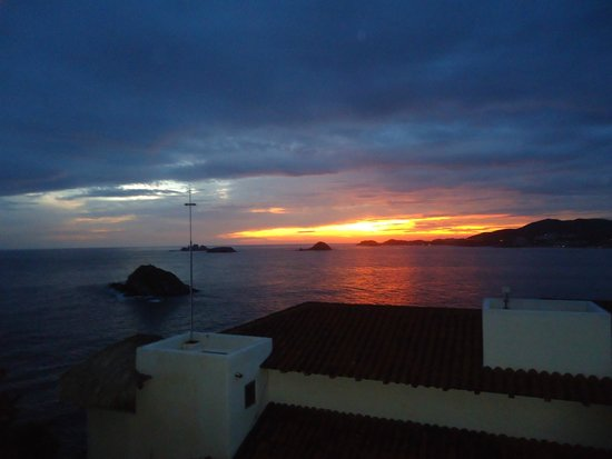 Pacifica Resort Ixtapa : Que bonitos atardeceres