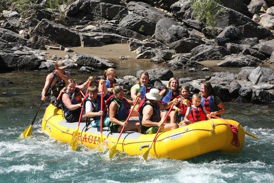 Glacier Raft Company: Right after Bonecrusher Rapids!
