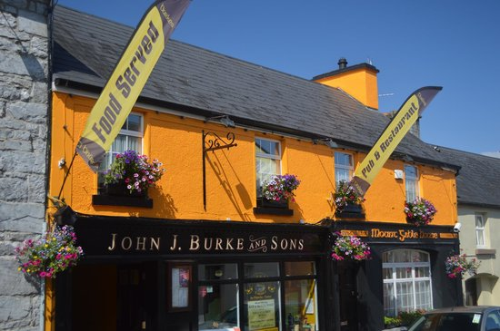 Burkes Bar and Restaurant , Clonbur , Co. Galway