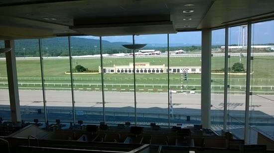 Hollywood Casino at Penn National Race Course: great view of the track