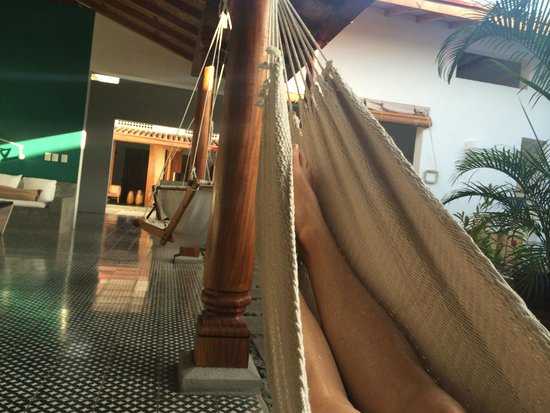 Los Patios Hotel: A little down time on the hammock