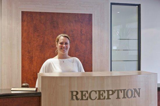 Mont Clare Boutique Apartments: Reception