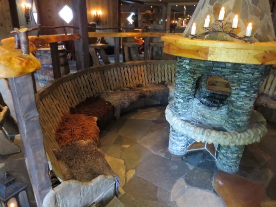 Flamsbrygga Hotell: View into the Viking brewry