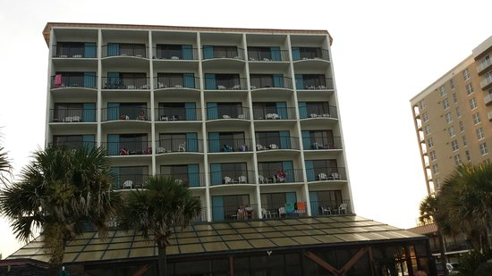 Sun Viking Lodge: Their 8 story building... all oceanfront from the 3rd fl up