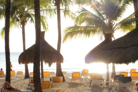 Iberostar Cozumel: view of the beach from the pool
