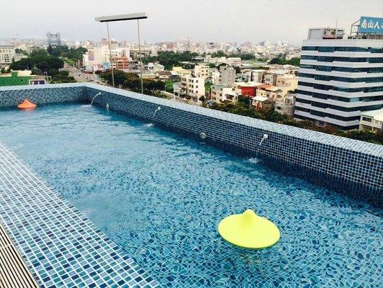 Hotel Day Plus - Teascape: 頂樓泳池