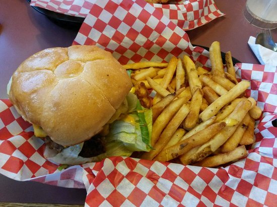 JB's Restaurant: All American cheese burger