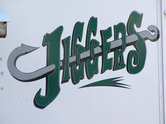 Jigger's: The sign