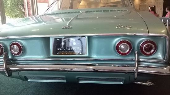 Antique Automobile Club of America Museum: rear end