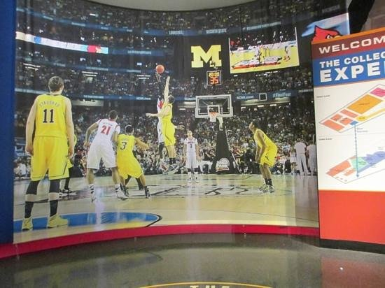 The College Basketball Experience: college basketball experience