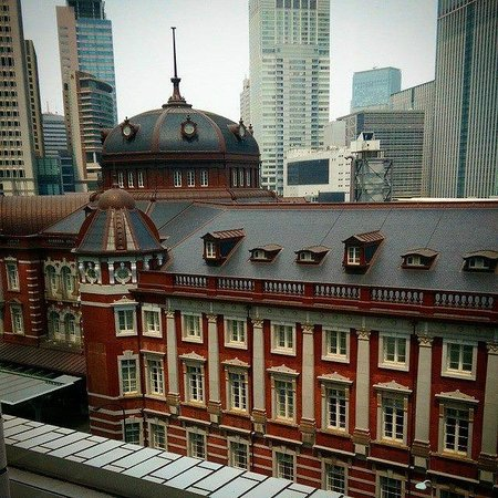 View from Kitte, the mall across the Tokyo Station Hotel