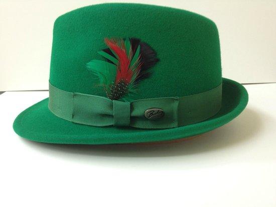 Meyer The Hatter: Kelly Green Bailey Wynn Light Felt Hat