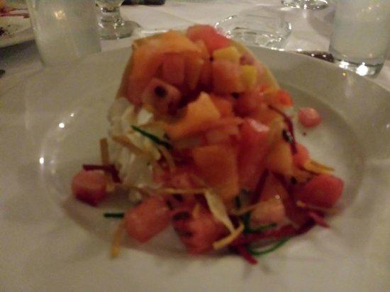IFA Villas Bavaro Resort & Spa : Fruit palte