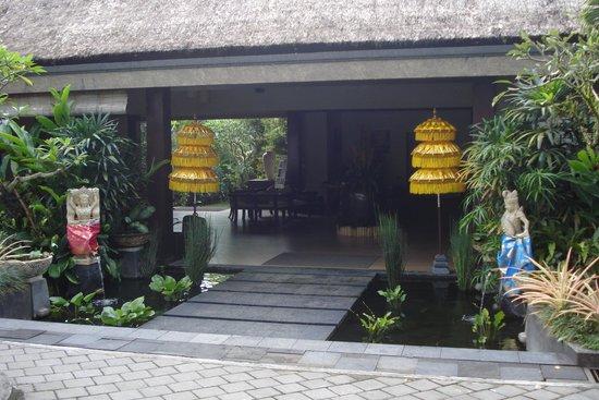 Ashoka Tree Resort Ubud: The Entrance to BALI RICH UBUD