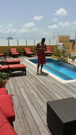 Ocean Two Resort & Residences : Roof top lounge