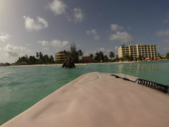 Ocean Two Resort & Residences: O2 from the ocean via the complimentary boogie board