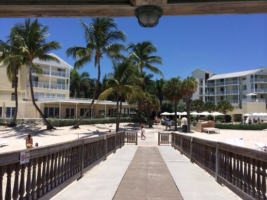 The Reach, A Waldorf Astoria Resort: Hotel view from the pier