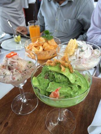 Cala Restaurante: Ceviches