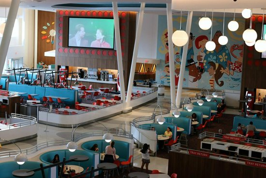 Universal S Cabana Bay Beach Resort Dining Area