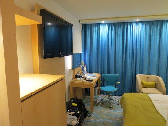 Radisson Blu Royal Hotel, Bergen: Overall view of Radisson Blu Room