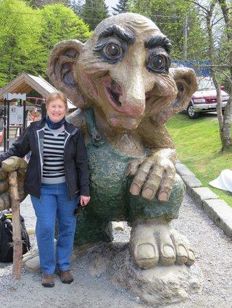 Radisson Blu Royal Hotel, Bergen: Norwegians love their Trolls