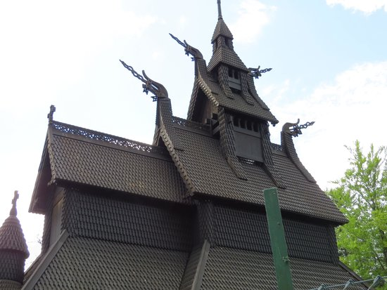 Radisson Blu Royal Hotel, Bergen: Fantoft Stave Church