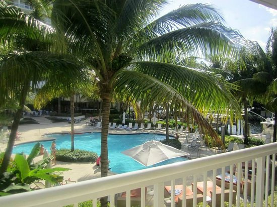 Hilton Fort Lauderdale Marina : View from balcony