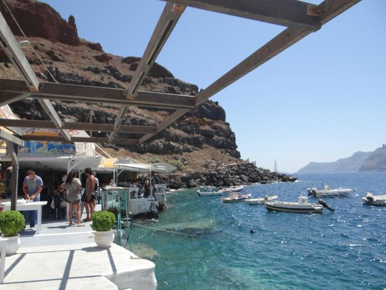 Dimitris Ammoudi Restaurant : Ammoudi