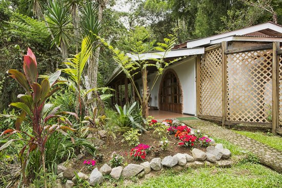 Rancho Naturalista: Location of our room
