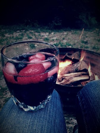 Harmon's Birchwood Resort: Love hanging out at the fire pit!!