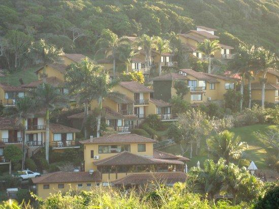 La Boheme Hotel e Apart Hotel : vista del hotel desde una calle en altura