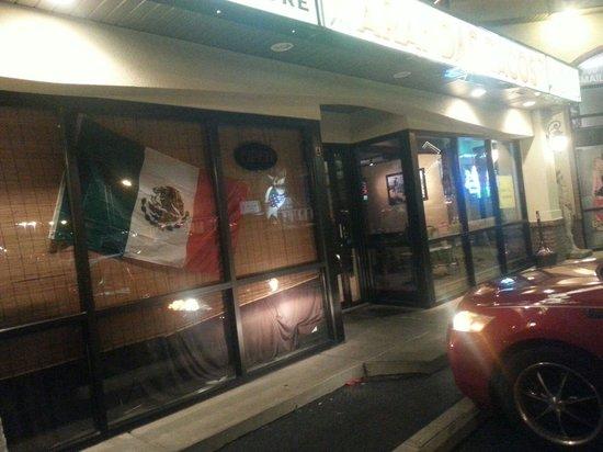 Arandas Tacos: Located on the strip