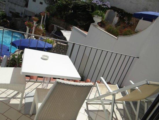 Hotel La Floridiana: Balcon