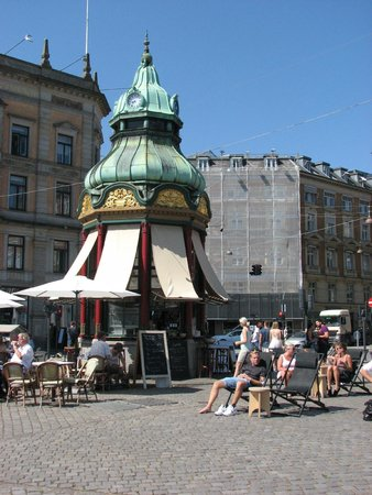 Strøget : Stroget - world's first telephone booth; Clark Kent was here