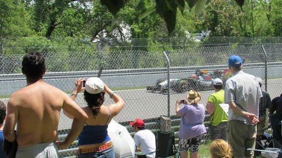 Circuit Gilles Villeneuve : general admission area