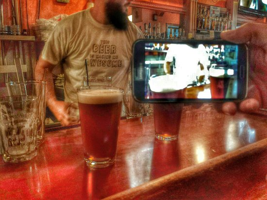 Black Dog Smoke & Ale House: Picture in Picture