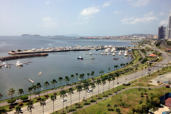 Intercontinental Miramar Panama: Vista do Quarto do Hotel.