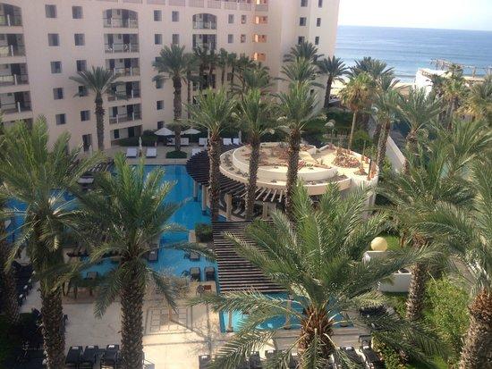 Hyatt Ziva Los Cabos: View from balcony of Room 3601