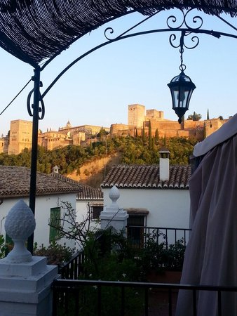 El Trillo Resturante: View from a balcony table