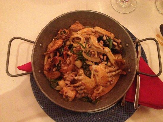 Hyatt Ziva Los Cabos: Seafood Stew  Spanish Restaurant
