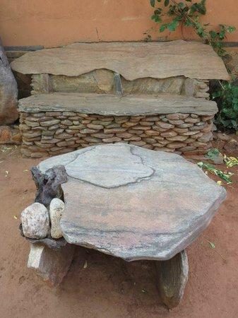 Gem River Edge - Eco Home and Safari: table