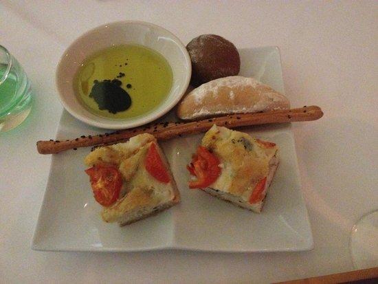 Hyatt Ziva Los Cabos: Bread at Italian Restaurant