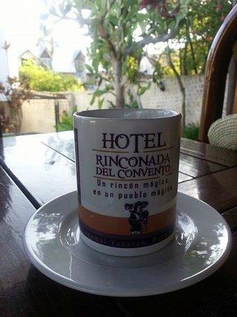 Rinconada del Convento: Desayuno al aire libre...