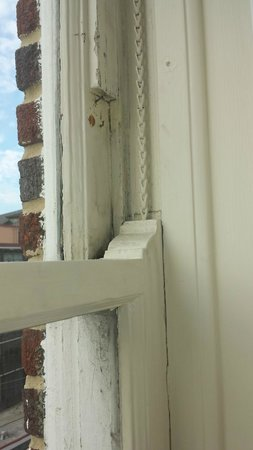 Francis Marion Hotel : Multiple Nails around window