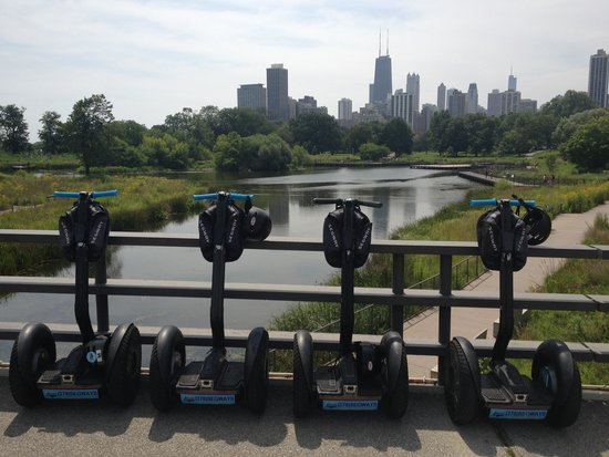 "Steve's Segway Tours: One of the stops on the "" north"" tour."