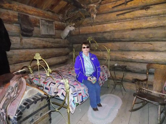 One room cabin - Picture of Old Trail Town, Cody - Tripadvisor